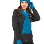 KO114 KO159 KO48 plain scarf gloves beanie pacific