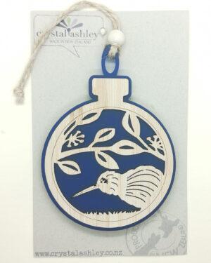 Kiwi Christmas Xmas Ornament
