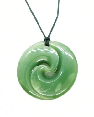 Double Koru Greenstone Pounamu Ross Crump