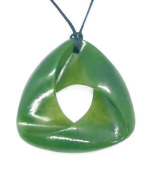 Greenstone Moebius Ribbon