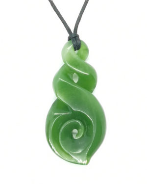 twist with koru pounamu ross crump